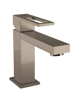 Noken Irta Single Lever Luce Basin Mixer Tap And Waste
