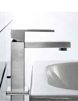 Related Porcelanosa Noken Irta Single Lever Stainless Steel Finish Basin Mixer Tap