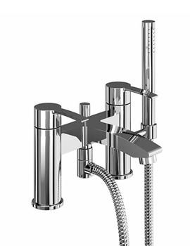 Related Britton Sapphire Bath Shower Mixer Tap Chrome - CTA16