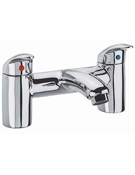 Cruz Deck Mounted Bath Filler Tap - TCR32