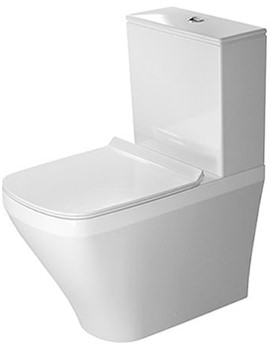 DuraStyle 370x630mm Close Coupled Toilet With Cistern And Seat
