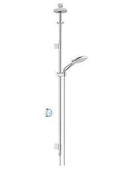 Rainshower Solo F Digital Shower Set With Pumped Ceiling Fed