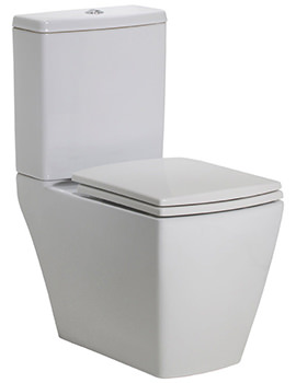 Related Tavistock Tetra Close Coupled WC Pan With Cistern And Seat - P500S