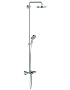 Power And Soul Cosmopolitan Thermostatic Bath Shower Set