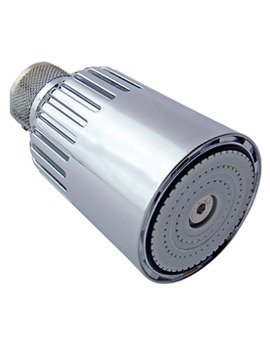 Swivel Showerhead With Vandal Resistant Screw - 980505CPVR