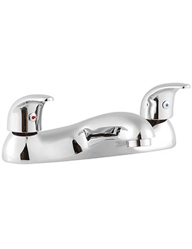 Aquations Premiere 2 Hole Deck Mounted Bath Filler Tap