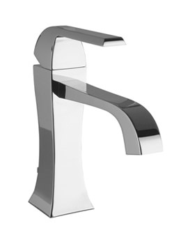 Noken Dune Single Lever Chrome Basin Mixer Tap And Waste