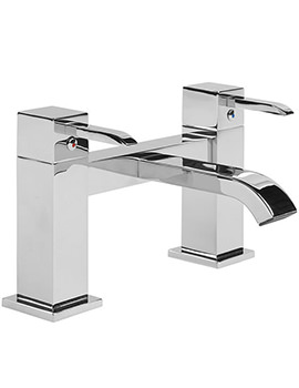 Kick Deck Mounted Bath Filler Tap - TKC32