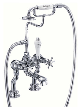 Birkenhead Regent Deck Mounted Bath Shower Mixer Tap