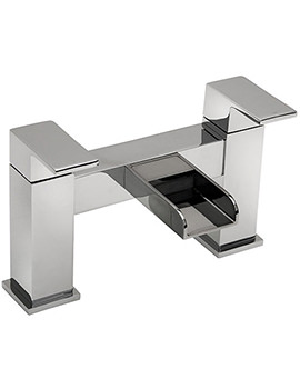 Geysir Pillar Mounted Bath Filler Tap Chrome - 1803