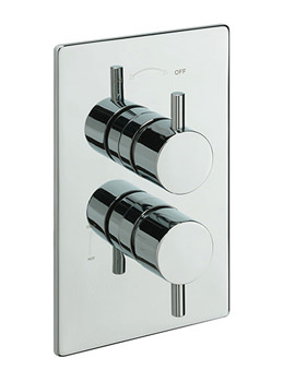Tre Mercati Bella Concealed Thermostatic Shower Valve Chrome - 82071