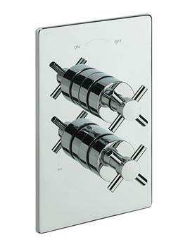 Erin Concealed Thermostatic Shower Valve Chrome - 82091