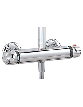 Exposed Thermostatic Double Ended Shower Valve - 975A