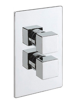 Edge Concealed Thermostatic Shower Valve Chrome - 83050