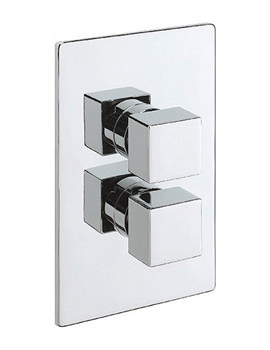 Turn Me On Concealed Thermostatic Shower Valve Chrome