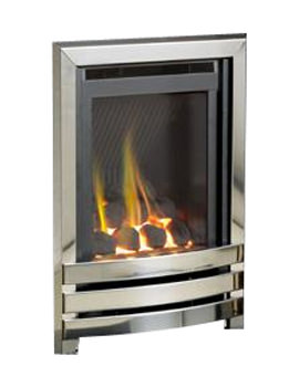 Linear HE Manual Control Full Depth Gas Fire Chrome-Coal - FHLCX0MN2