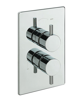 Poppy Concealed Thermostatic Valve With 2 Way Diverter