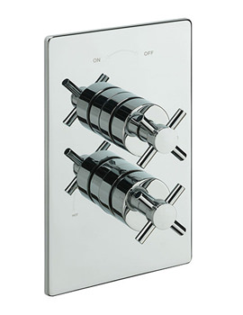 Erin Thermostatic Shower Valve With 2 Way Diverter - 82092