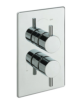 Poppy Concealed Thermostatic Shower Valve Chrome - 82071