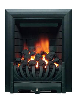 Be Modern Avantgarde Traditional Full Depth Inset Gas Fire Black 00961X