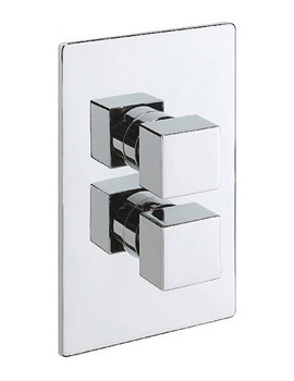 Tre Mercati Mr Darcy Concealed Thermostatic Valve Chrome - 83050