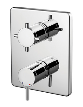 Trevi Oposta Thermostatic Shower Valve Faceplate