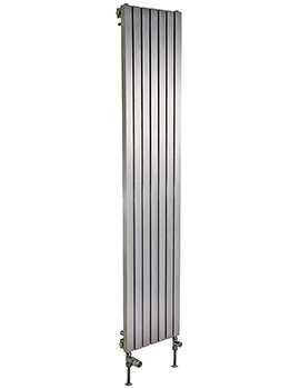 Ferrara Stainless Steel Vertical Radiator 500 x 1800mm