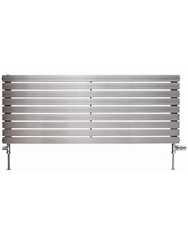 Ferrara Stainless Steel Horizontal Radiator 2000 x 500mm