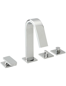 Coast 4 Hole Bath Shower Mixer Tap With Handset