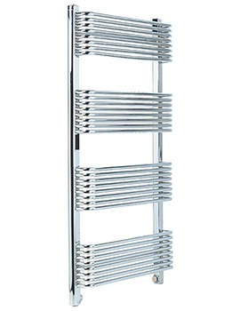Trieste Superior Chrome Towel Warmer 600 x 1070mm - TWSC6W1070