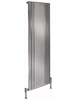 Apollo Capri Vertical Radiator With Mirror 600mm x 1800mm - EC18H4S