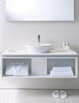 Related Starck 1 Basin 330mm On Darling New 1000mm Furniture - DN645001451
