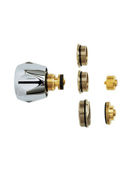 Universal Conversion Tap Head Kit With Metal Handles - MCK001