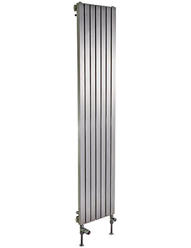 Ferrara Stainless Steel Vertical Radiator 400 x 1200mm