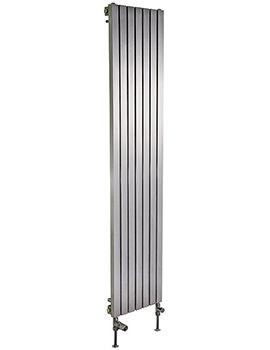 Ferrara Stainless Steel Vertical Radiator 400 x 1200mm