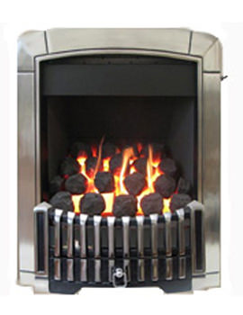 Manual Control Contemporary HE Inset Gas Fire Chrome - FHEC3RMN