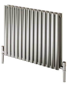 Reina Nerox Double Panel Stainless Steel 1180 x 600mm