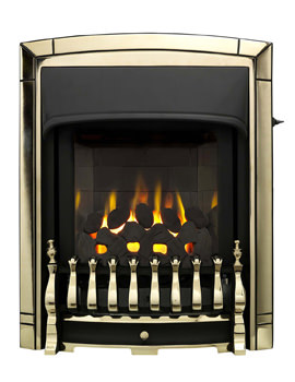 Valor Dream Slimline Homeflame Slide Control Inset Gas Fire Gold