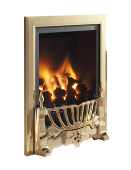 Flavel Kenilworth Remote Control Inset Gas Fire Brass - FRDC146RN