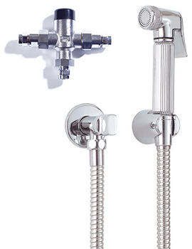 Luxury Douche Kit With Handset And Thermostatic Mixing Valve