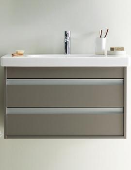 Related Vero Washbasin 800mm On Ketho 750mm Furniture - KT663701818