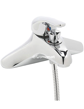 Modena Single Lever Bath Shower Mixer Tap With Shower Kit