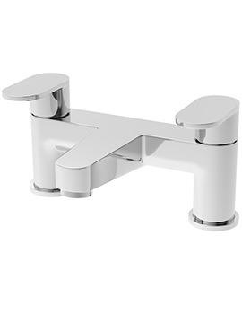 Beo Proportion Deck Mounted Chrome Plated Bath Filler Tap