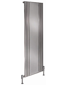 Capri Vertical Radiator With Mirror 750 x 1800mm - EC18H6S