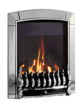 Slide Control Traditional HE Inset Gas Fire Chrome - FHEC6JSN
