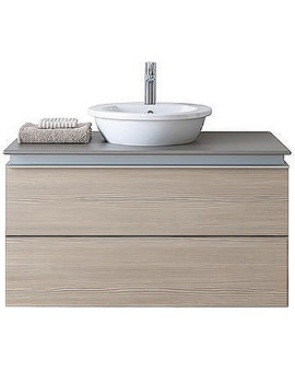 Related Duravit Vero 500mm Basin With 1000mm Darling New Vanity Unit - DN646501451