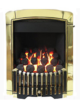 Valor Dream Convector C1 Slide Control Inset Gas Fire Gold - 05740L1