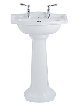 Related Imperial Drift 540mm Small Basin And Full Pedestal - DR1SB11030