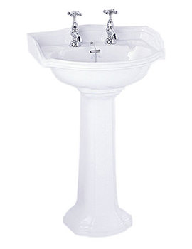 Related Imperial Oxford Cloak 535mm Basin And Pedestal - OX1SB11030