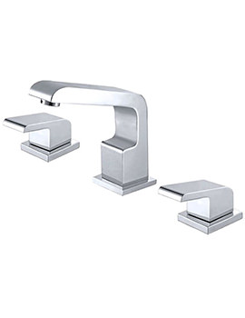 RW Series 3 Hole Deck Mounted Bath Filler Tap - RW002